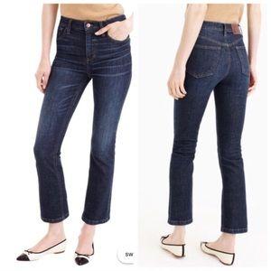 J. Crew Billie Demi Boot Crop Jeans Size 29 Ankle
